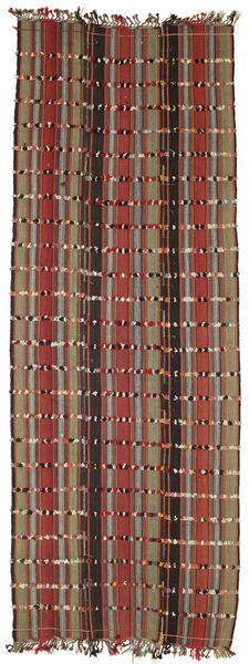 Kilim Konya Cicim Alfombra 161X433 Oriental Tejida A Mano Marrón Oscuro/Rojo Oscuro (Lana, Turquía)
