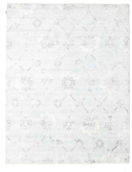 Himalaya Alfombra 236X304 Moderna Hecha A Mano Blanco/Crema ( India)