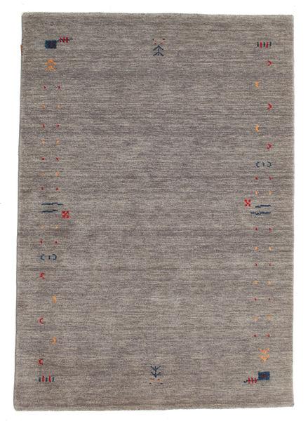 Gabbeh Loom Frame - Gris Alfombra 140X200 Moderna Gris Claro/Gris Oscuro (Lana, India)