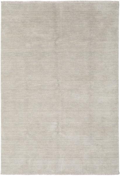 Handloom Fringes - Greige Alfombra 160X230 Moderna Gris Claro (Lana, India)