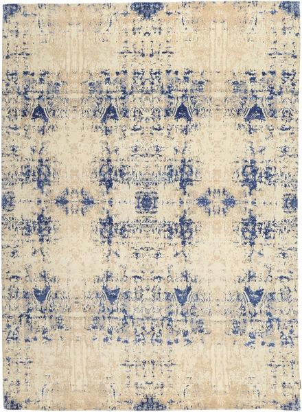 Roma Moderno Collection Alfombra 243X338 Moderna Hecha A Mano Beige/Gris Claro/Beige Oscuro ( India)
