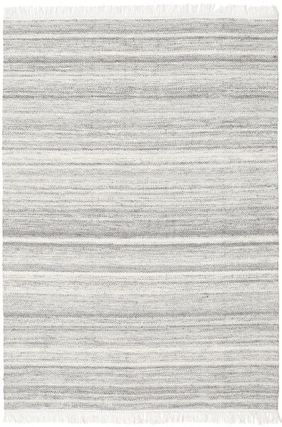 Diamond Lana - Gris Alfombra 160X230 Moderna Tejida A Mano Gris Claro/Blanco/Crema (Lana, India)