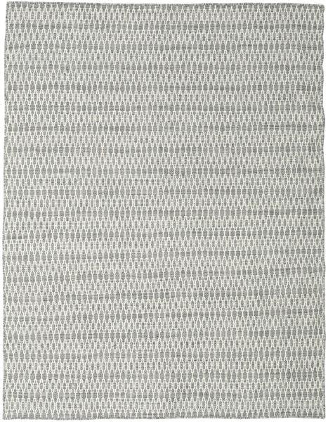Kilim Long Stitch - Gris Alfombra 190X240 Moderna Tejida A Mano Gris Claro/Beige (Lana, India)
