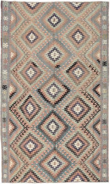 Kilim Turquía Alfombra 175X290 Oriental Tejida A Mano Gris Claro/Gris Oscuro/Marrón Claro (Lana, Turquía)
