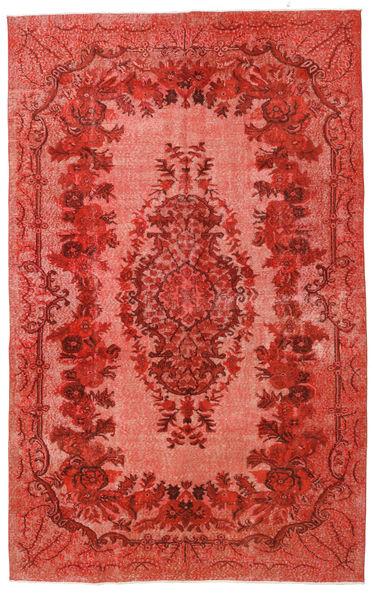 Colored Vintage Relief Alfombra 180X290 Moderna Hecha A Mano Óxido/Roja/Rojo Oscuro (Lana, Turquía)