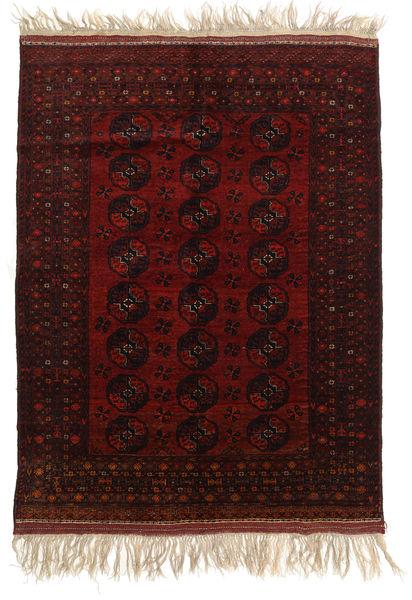 Afghan Khal Mohammadi Alfombra 150X196 Oriental Hecha A Mano Marrón Oscuro/Rojo Oscuro (Lana, Afganistán)