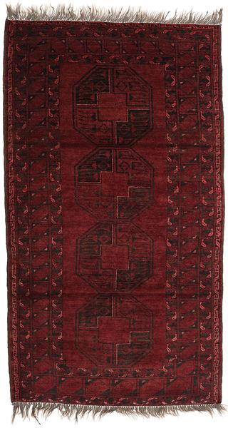 Afghan Khal Mohammadi Alfombra 111X198 Oriental Hecha A Mano Rojo Oscuro (Lana, Afganistán)