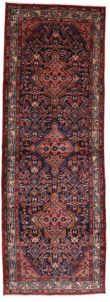 Asadabad Alfombra 112X320 Oriental Hecha A Mano Rojo Oscuro/Marrón Oscuro (Lana, Persia/Irán)