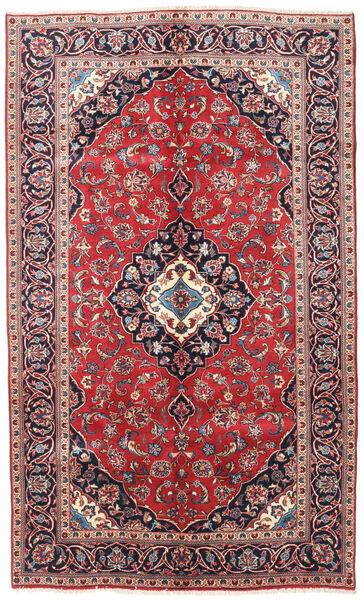 Keshan Alfombra 145X240 Oriental Hecha A Mano Púrpura Oscuro/Rojo Oscuro (Lana, Persia/Irán)