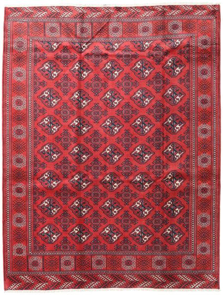 Turkaman Alfombra 207X272 Oriental Hecha A Mano Roja/Rojo Oscuro (Lana, Persia/Irán)