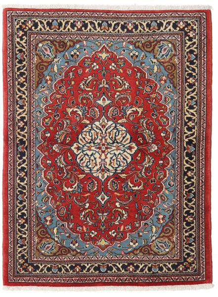 Sarough Alfombra 110X145 Oriental Hecha A Mano Rojo Oscuro/Marrón Oscuro (Lana, Persia/Irán)