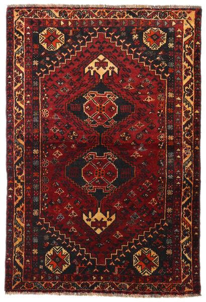 Gashgai Alfombra 113X166 Oriental Hecha A Mano Rojo Oscuro/Marrón Oscuro (Lana, Persia/Irán)