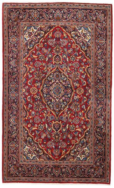 Keshan Alfombra 138X220 Oriental Hecha A Mano Rojo Oscuro/Marrón Oscuro (Lana, Persia/Irán)