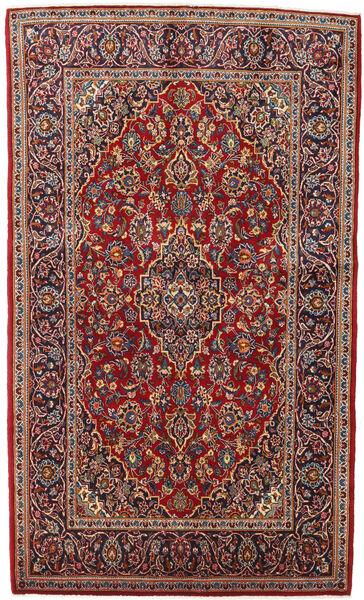 Keshan Alfombra 135X225 Oriental Hecha A Mano Rojo Oscuro/Marrón Oscuro (Lana, Persia/Irán)