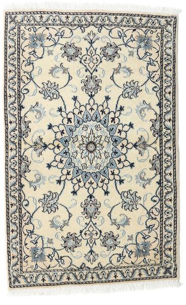 Nain Alfombra 86X140 Oriental Hecha A Mano Beige/Gris Claro (Lana, Persia/Irán)