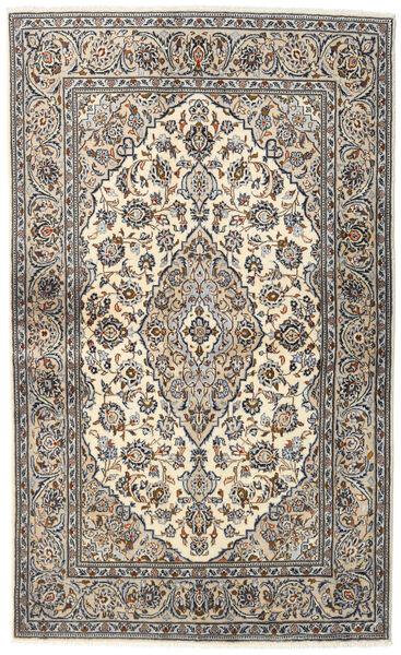 Keshan Alfombra 133X218 Oriental Hecha A Mano Gris Claro/Gris Oscuro (Lana, Persia/Irán)