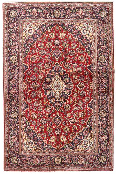 Keshan Alfombra 133X203 Oriental Hecha A Mano Rojo Oscuro/Beige (Lana, Persia/Irán)