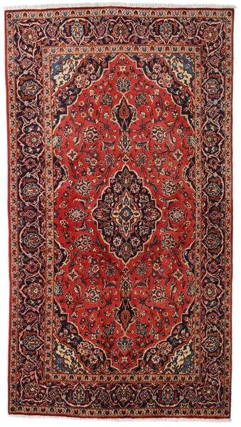 Keshan Alfombra 137X248 Oriental Hecha A Mano Marrón Oscuro/Rojo Oscuro (Lana, Persia/Irán)