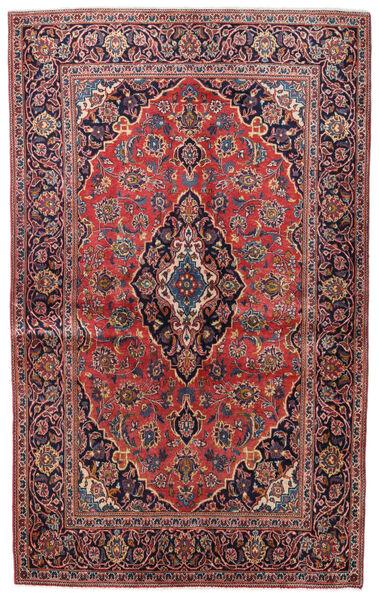 Keshan Alfombra 132X214 Oriental Hecha A Mano Rojo Oscuro/Púrpura Oscuro (Lana, Persia/Irán)