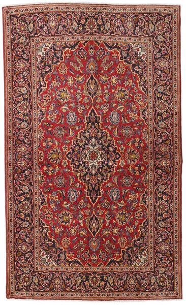 Keshan Alfombra 133X222 Oriental Hecha A Mano Rojo Oscuro/Marrón Oscuro (Lana, Persia/Irán)