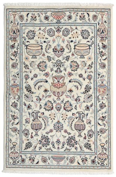Kashmar Alfombra 101X154 Oriental Hecha A Mano Gris Claro/Blanco/Crema (Lana, Persia/Irán)