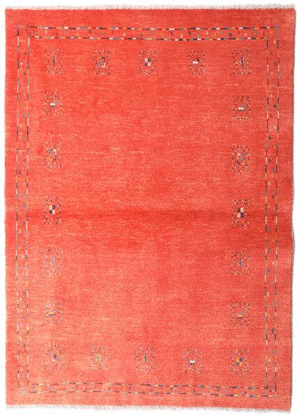 Loribaft Persia Alfombra 102X144 Moderna Hecha A Mano Roja/Óxido/Roja/Rosa Claro (Lana, Persia/Irán)