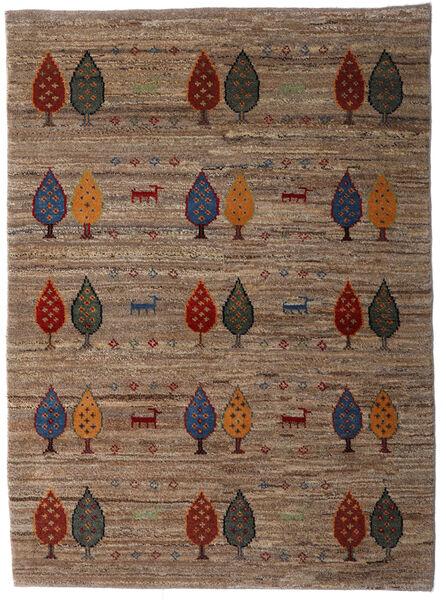 Loribaft Persia Alfombra 107X146 Moderna Hecha A Mano Marrón/Marrón Oscuro (Lana, Persia/Irán)