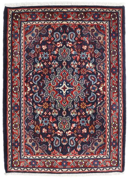 Hamadan Shahrbaf Alfombra 72X100 Oriental Hecha A Mano Púrpura Oscuro/Rojo Oscuro (Lana, Persia/Irán)