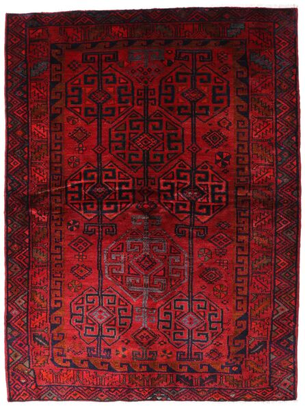 Lori Alfombra 174X230 Oriental Hecha A Mano Rojo Oscuro (Lana, Persia/Irán)