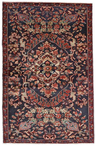 Bakhtiar Alfombra 133X205 Oriental Hecha A Mano Gris Oscuro/Rojo Oscuro (Lana, Persia/Irán)