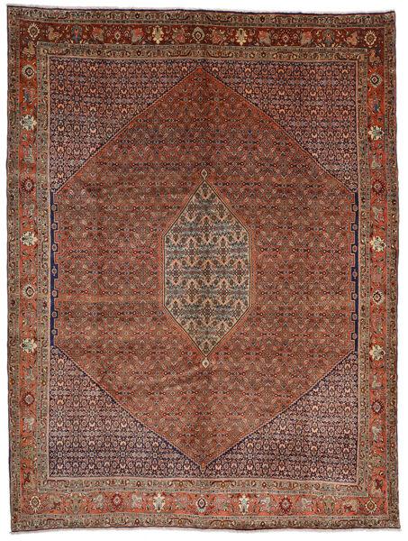 Bidjar Alfombra 308X408 Oriental Hecha A Mano Rojo Oscuro/Marrón Oscuro Grande (Lana, Persia/Irán)