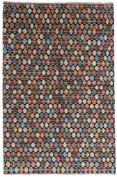 Moroccan Berber - Afghanistan Alfombra 168X252 Moderna Hecha A Mano Negro/Gris Claro (Lana, Afganistán)