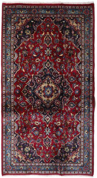 Kashmar Alfombra 109X198 Oriental Hecha A Mano Rojo Oscuro (Lana, Persia/Irán)