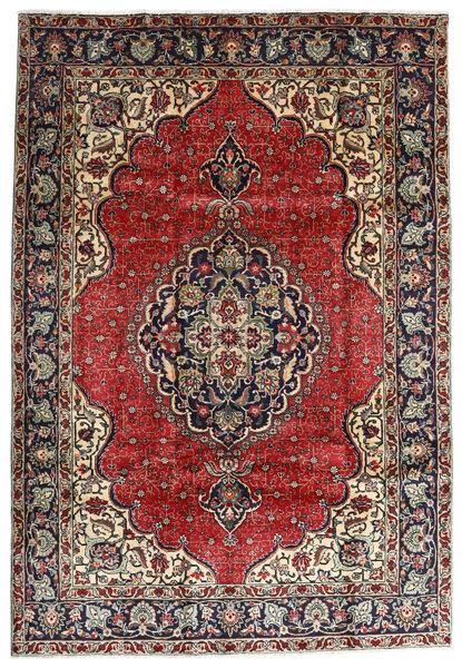 Tabriz Alfombra 207X295 Oriental Hecha A Mano Rojo Oscuro/Marrón Oscuro (Lana, Persia/Irán)