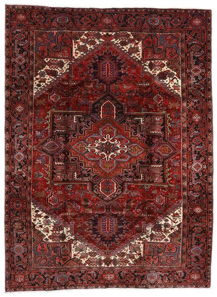 Heriz Alfombra 210X282 Oriental Hecha A Mano Rojo Oscuro (Lana, Persia/Irán)