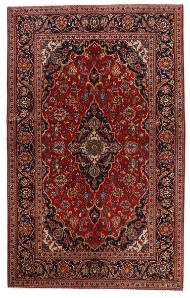Keshan Alfombra 130X209 Oriental Hecha A Mano Rojo Oscuro/Marrón Oscuro (Lana, Persia/Irán)