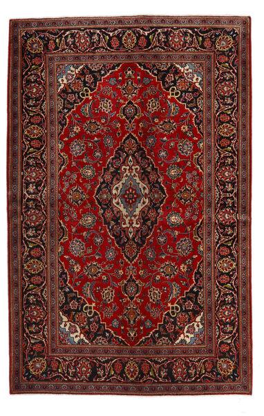 Keshan Alfombra 140X219 Oriental Hecha A Mano Rojo Oscuro/Marrón Oscuro (Lana, Persia/Irán)