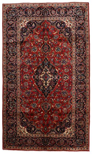 Keshan Alfombra 150X256 Oriental Hecha A Mano Rojo Oscuro/Marrón Oscuro (Lana, Persia/Irán)