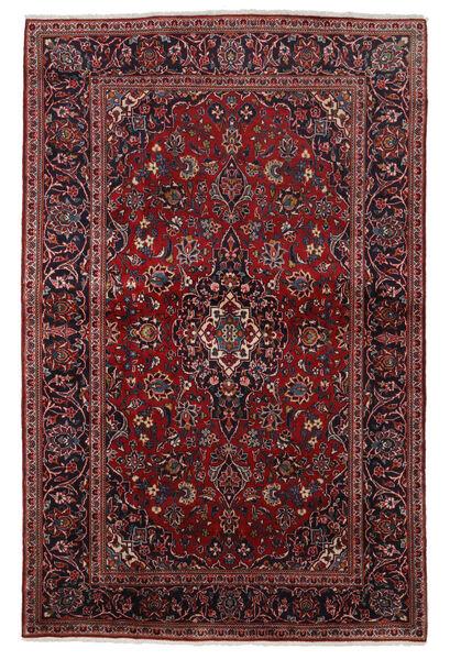 Keshan Alfombra 140X215 Oriental Hecha A Mano Rojo Oscuro (Lana, Persia/Irán)