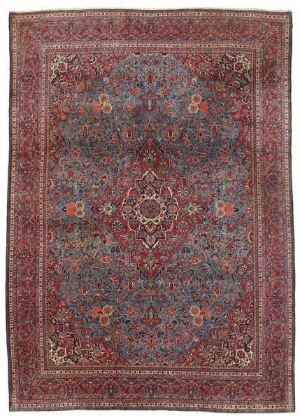 Keshan Alfombra 240X339 Oriental Hecha A Mano Marrón Oscuro/Rojo Oscuro (Lana, Persia/Irán)