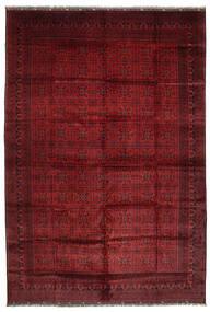 Afghan Khal Mohammadi Alfombra 406X582 Oriental Hecha A Mano Rojo Oscuro Grande (Lana, Afganistán)