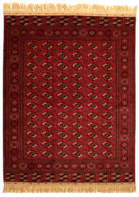 Bukara/Yamut Alfombra 201X252 Oriental Hecha A Mano (Lana, Turkmenistán)