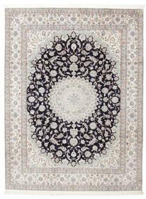 Nain 6La Firmada: Habibian Alfombra 205X271 Oriental Hecha A Mano (Lana/Seda, Persia/Irán)