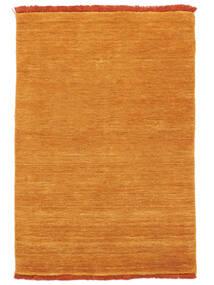 Handloom Fringes - Naranja Alfombra 200X300 Moderna Amarillo/Marrón Claro (Lana, India)