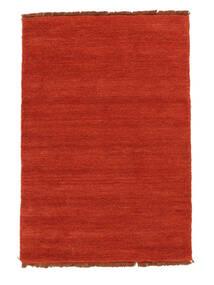 Handloom Fringes - Óxido/Rojo Alfombra 140X200 Moderna Óxido/Roja (Lana, India)