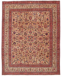Mashad Patina Firmada: Amoghli Alfombra 287X370 Oriental Hecha A Mano Óxido/Roja/Rojo Oscuro Grande (Lana, Persia/Irán)