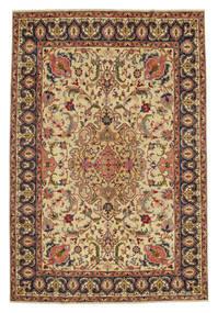 Tabriz Patina Alfombra 217X328 Oriental Hecha A Mano Marrón/Beige Oscuro (Lana, Persia/Irán)