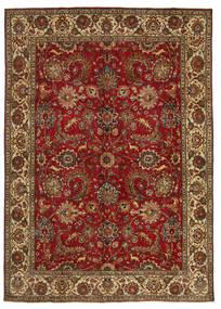 Tabriz Patina Firmada: Hanifzadeh Alfombra 282X392 Oriental Hecha A Mano Rojo Oscuro/Marrón Oscuro Grande (Lana, Persia/Irán)