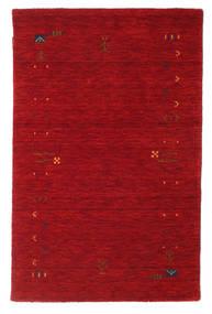 Gabbeh Loom Frame - Rojo Alfombra 100X160 Moderna Roja/Rojo Oscuro (Lana, India)