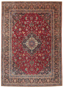 Keshan Alfombra 275X385 Oriental Hecha A Mano Rojo Oscuro/Marrón Oscuro Grande (Lana, Persia/Irán)